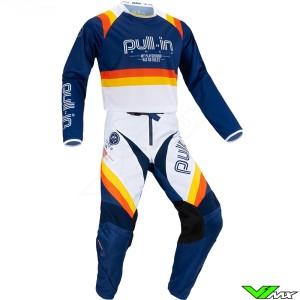 Pull In Challenger Master 2021 Motocross Gear Combo - Navy / Version 2