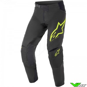Alpinestars Techstar Factory 2021 Crossbroek - Zwart / Fluo Geel