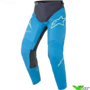 Alpinestars Racer Braap 2021 Motocross Pants - Ocean Blue / Mint