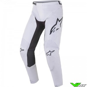 Alpinestars Racer Supermatic 2021 Motocross Pants - Light Grey / Black