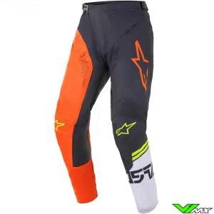 Alpinestars Racer Compass 2021 Motocross Pants - Orange / Anthracite (40)