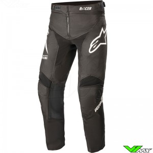 Alpinestars Racer Braap 2021 Youth Motocross Pants - Black / White