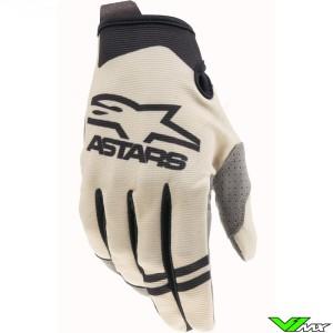 Alpinestars Radar 2021 Motocross Gloves - Sand / Black
