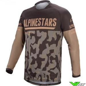 Alpinestars Venture R Enduro Jersey - Mud / Camo / Sand