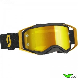 Scott Prospect Motocross Goggle - Black / Gold