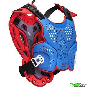 Alpinestars A1 Bodyprotector - Rood / Blauw