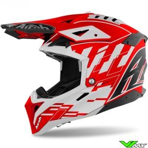 Airoh Aviator 3 Rampage Motocross Helmet - Red