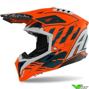 Airoh Aviator 3 Rampage Motocross Helmet - Orange