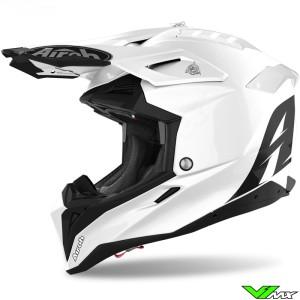 Airoh Aviator 3 Motocross Helmet - White