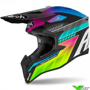 Airoh Wraap Youth Prism Youth Motocross Helmet