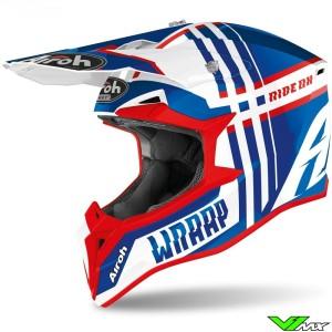 Airoh Wraap Youth Broken Youth Motocross Helmet