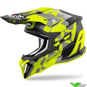 Airoh Striker XXX Motocross Helmet - Fluo Yellow