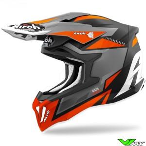 Airoh Striker Axe Motocross Helmet - Orange
