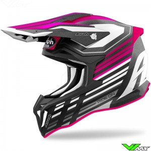 Airoh Striker Shaded Motocross Helmet - Pink