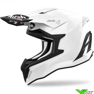Airoh Striker Motocross Helmet - White