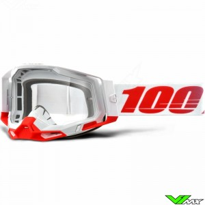 100% Racecraft 2 Stkith Crossbril - Clear lens
