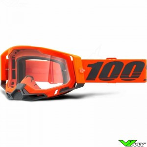 100% Racecraft 2 Kerv Crossbril - Clear lens