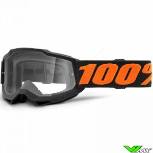 100% Accuri 2 Youth Chicago Youth Motocross Goggle - Clear Lens