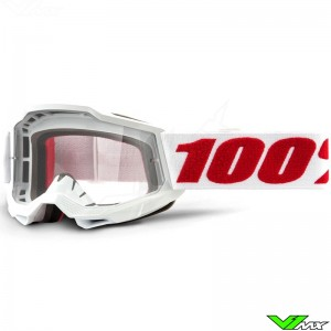 100% Accuri 2 Youth Denver Youth Motocross Goggle - Clear Lens