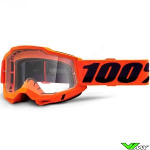 100% Accuri 2 OTG Oranje Crossbril