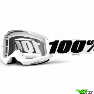 100% Strata 2 Everest Motocross Goggle - Clear Lens