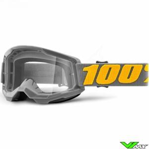 100% Strata 2 Izipizi Crossbril - Clear lens