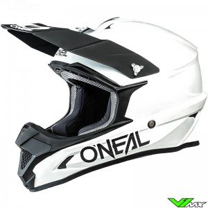 Oneal 1 Series Solid Crosshelm - Wit