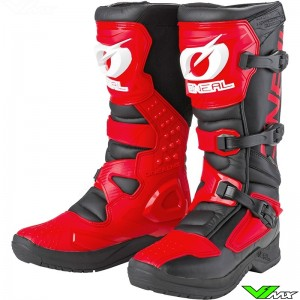 Oneal RSX Motocross Boots - Red