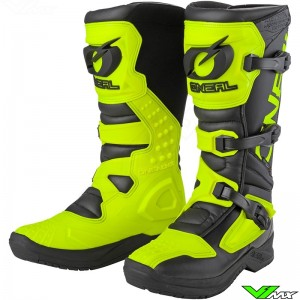 Oneal RSX Motocross Boots - Fluo Yellow