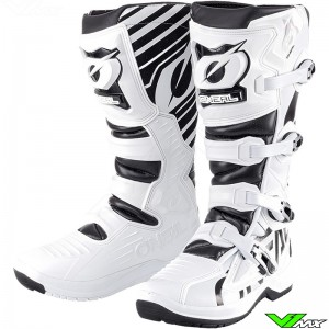 Oneal RMX Motocross Boots - White