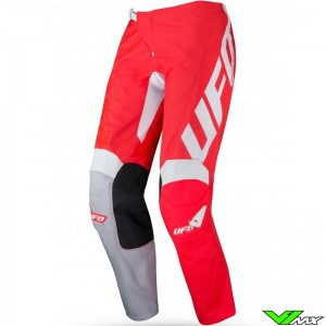 UFO Indium 2021 Motocross Pants - Fluo Red