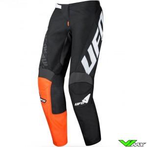 UFO Indium 2021 Motocross Pants - Black / Orange
