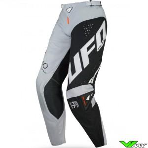 UFO Slim Frequency 2021 Motocross Pants - Grey / Orange