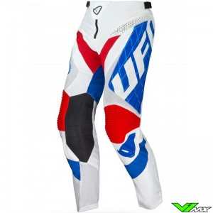 UFO DeepSpace 2021 Motocross Pants - Red / White / Blue