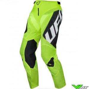 UFO DeepSpace 2021 Motocross Pants - Black / Fluo Yellow