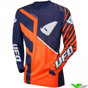 UFO Vanadium 2021 Youth Motocross Jersey - Fluo Orange