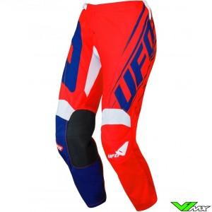 UFO Vanadium 2021 Youth Motocross Pants - Red / Blue