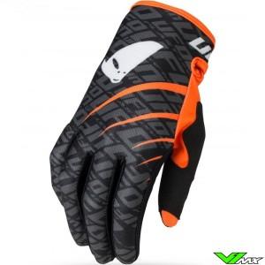 UFO Skill Indium 2021 Motocross Gloves - Black / Orange
