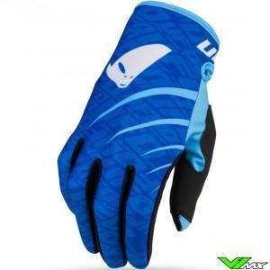 UFO Skill Indium 2021 Motocross Gloves - Blue