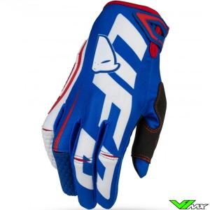 UFO Blaze 2021 Motocross Gloves - Blue / Red
