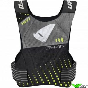 UFO Shan Body Armour - Grey / Fluo Yellow
