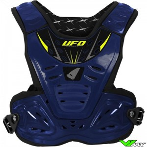 UFO Reactor 2 Body Armour - Blue / Fluo Yellow