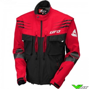 UFO Taiga Enduro Jacket - Red