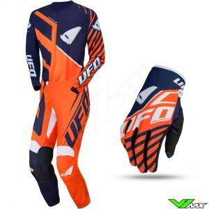 UFO Vanadium 2021 Motocross Gear Combo - Fluo Orange