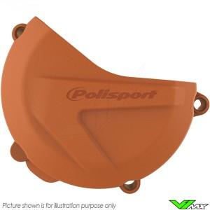 Polisport Clutch Cover Protector Orange - KTM 250SX-F 350SX-F 250EXC-F 350EXC-F 250XC-F 350XC-F