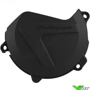 Polisport Clutch Cover Protector Black - KTM 450SX-F 450EXC 500EXC Husqvarna FC450 FE450 FE501 FX450