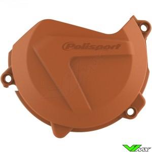 Polisport Clutch Cover Protector Orange - KTM 450SX-F 450EXC 500EXC