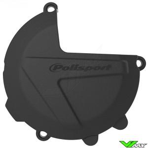 Polisport Clutch Cover Protector Black - KTM 250SX 250EXC 300EXC Husqvarna TC250 TE250 TE300 TX300