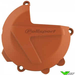 Polisport Clutch Cover Protector Orange - KTM 250SX 250EXC 300EXC