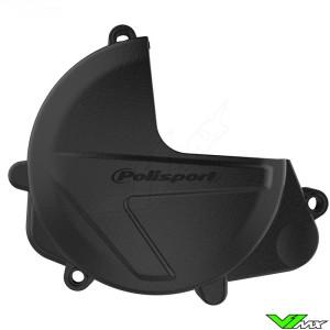 Polisport Clutch Cover Protector Black - Honda CRF450R CRF450RX